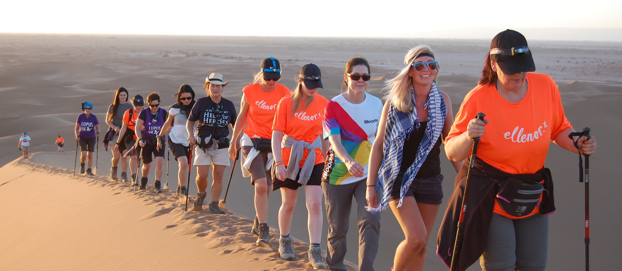 Why Sam trekked the Sahara for charity...